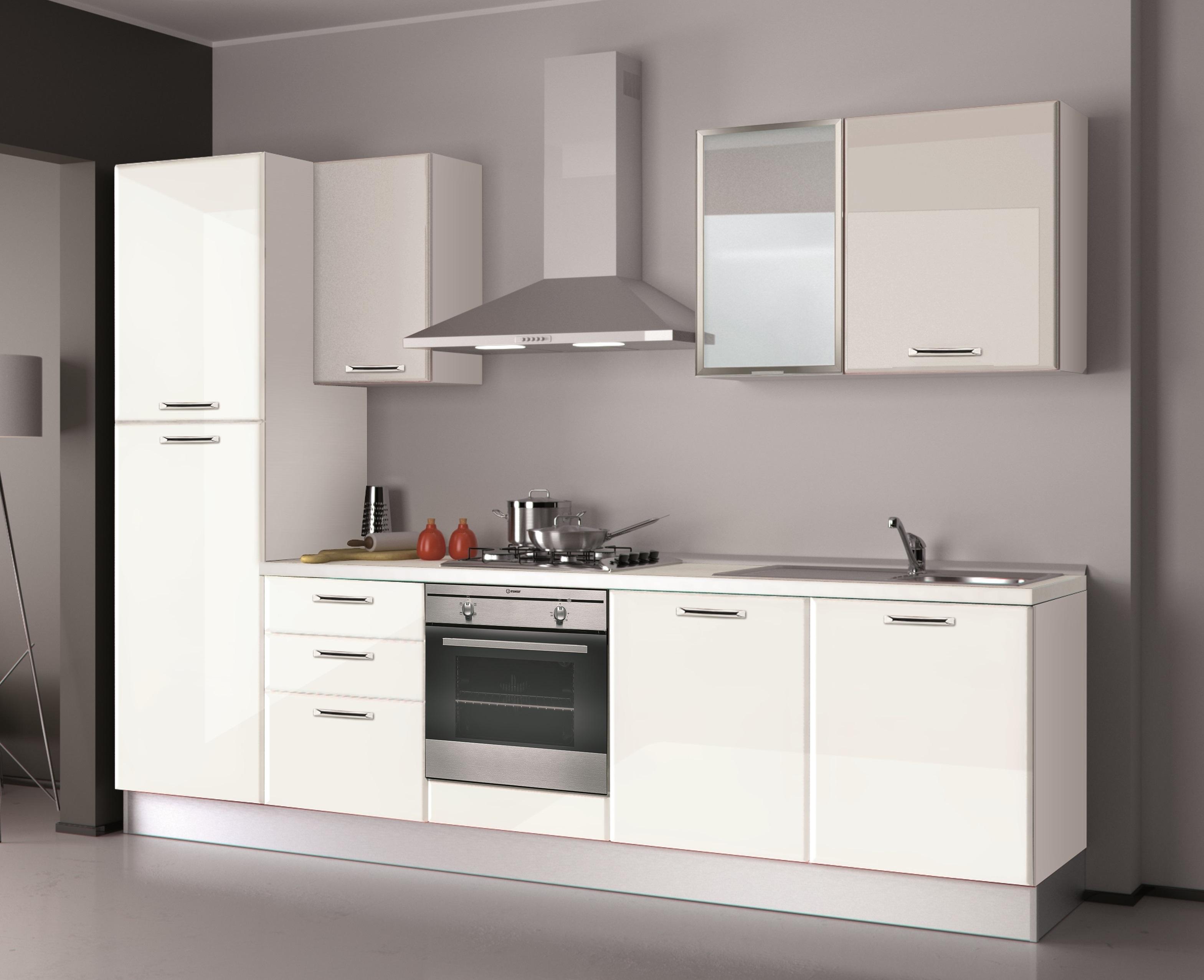 Promo 111 arredamenti centro cucine battistelli eric - Cucina lineare 3 metri senza frigo ...