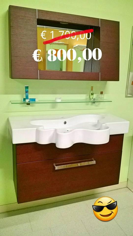 Mobile bagno in esposizione arredamenti centro cucine battistelli eric - Montaggio mobile bagno ...